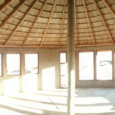 Construcción 50 m2 comedor de 6 m de altura