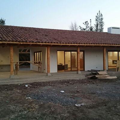Casa Los Andes - Fachada norte
