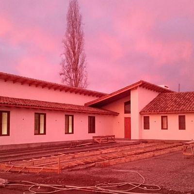 Casa Los Andes - Fachada sur poniente
