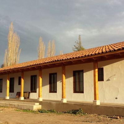 Casa Los Andes - Fachada nor poniente