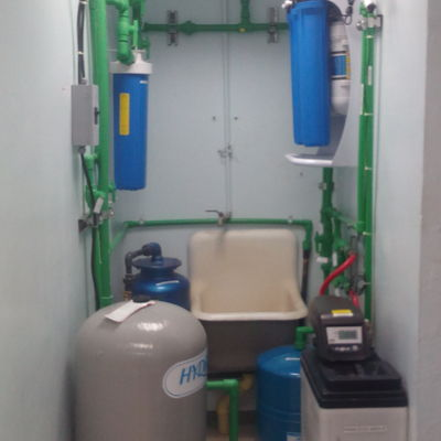 Sistemas de filtrado de agua