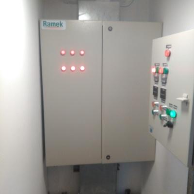 Tablero eléctrico edificio merval