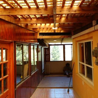 iluminacion exterior pasillos
