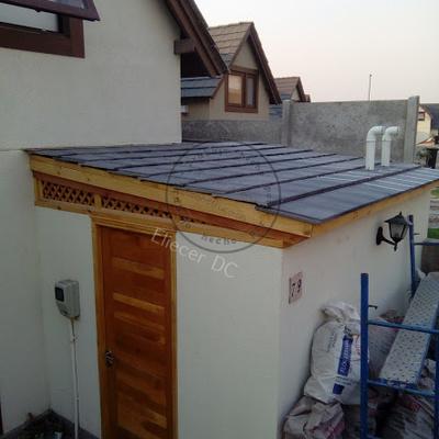 techumbre tejas hormigón