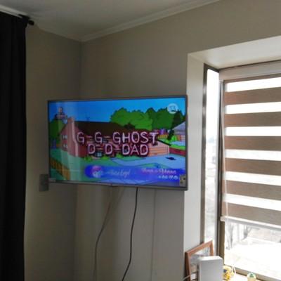 Instalación brazo tv