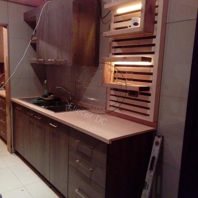 mueble cocina con lavaplato