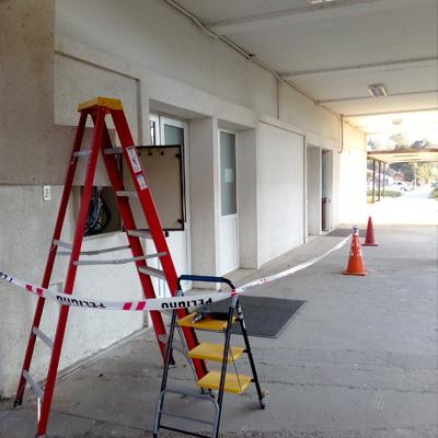 reparacion tablero de edificio