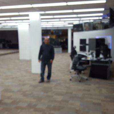 terminaciones con piso técnico oficinas Codelco Rancagua