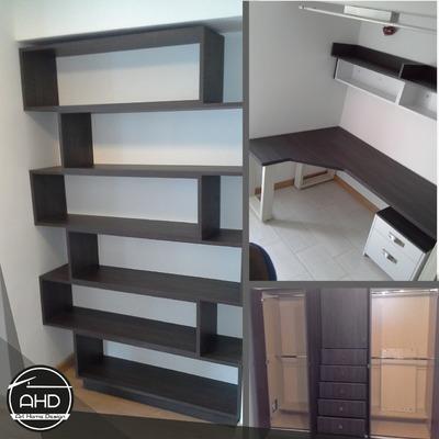Mobiliario para oficinas comerciales.