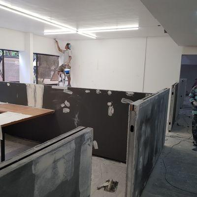 Remodelacion - Pintado oficinas
