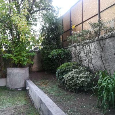 Ornamentación Jardin departamento