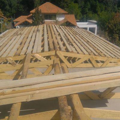 Instalación de de techumbre