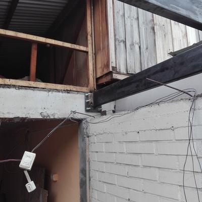 Estructura soporte segundo piso