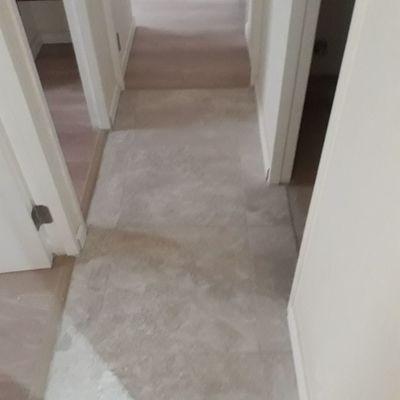 Acabado en piso ceramico