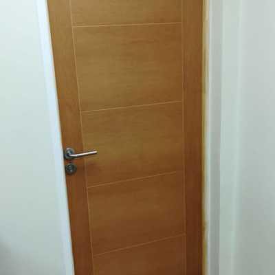 puertas de seguridad madera