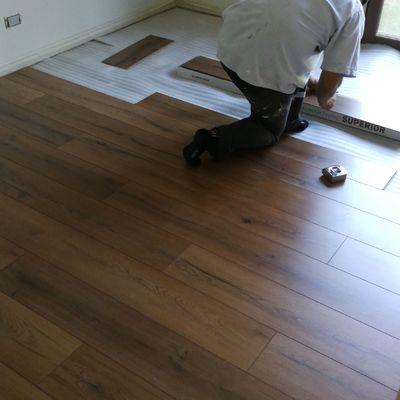 Instalacion de piso laminado