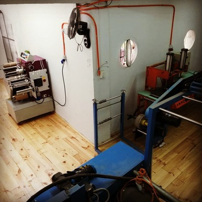 Construcción de taller textil