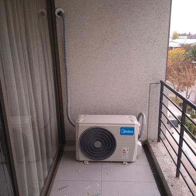 Instalacion exterior a/a inverter 12000 btu