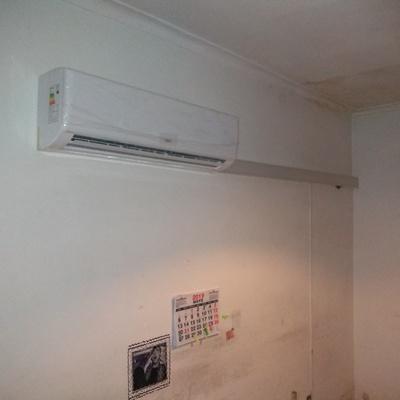 Instalacion interior a/a inverter 24000 btu