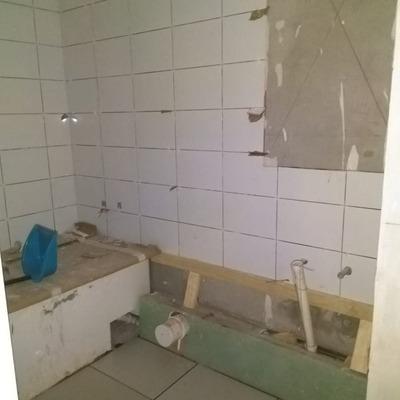 Baños obra Trapiche