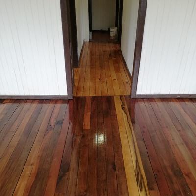 Futrono casa oficina terminado piso mañio y natural