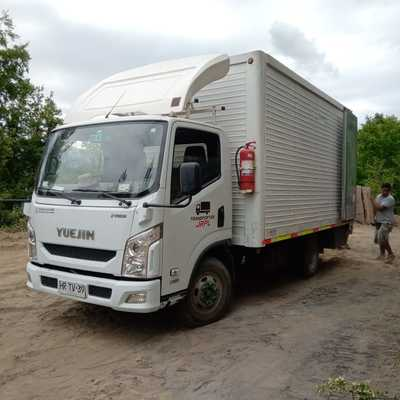 Segundo camión de mudanza a Potrero Grande en Curicó