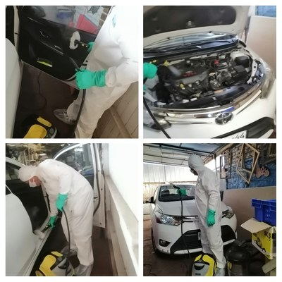 Limpieza autos