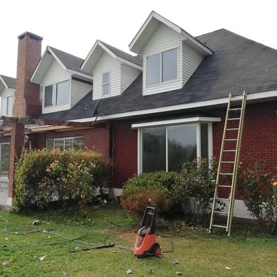 Limpieza total de fachada