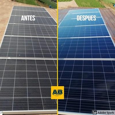 Mantención paneles solares
