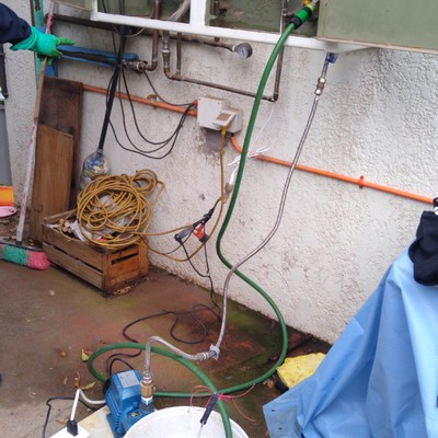 Limpieza química de caldera de calefacción y agua sanitaria