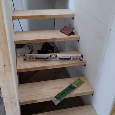 Instalación escalera