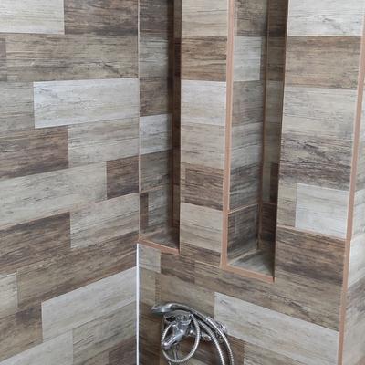 Construcción de duchas