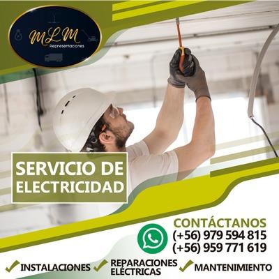 Servicio de electricidad doméstico.