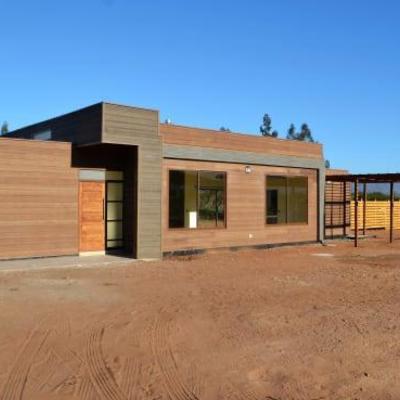 Casa en proceso de construccion