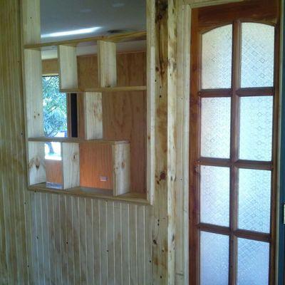 interior cocina en terminaciones