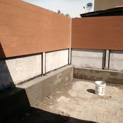 Muro contención y revestimiento perimetral