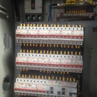 construccion y montaje de nuevo tablero electrico