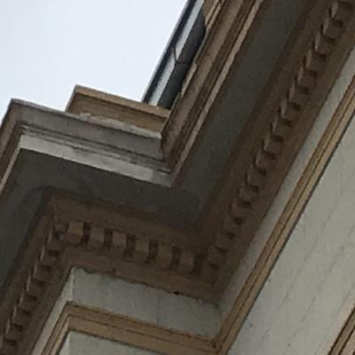 Reparación y Pintura Cornisas Interiores y Exteriores Hotel O¨Higgins de Viña del Mar