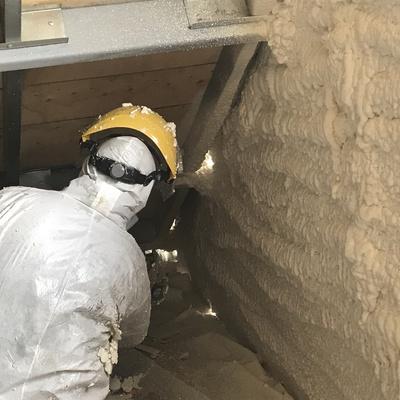 Aislacion termica para mansarda o entretecho