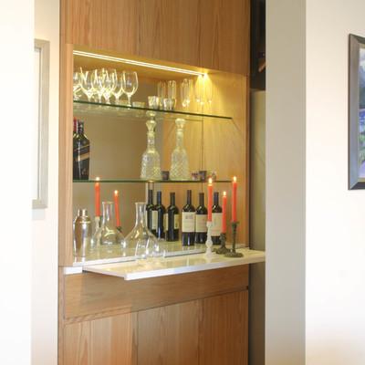Diseño Mueble Cava Vino y Licores