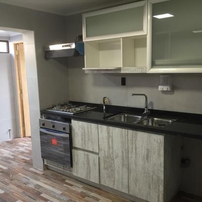 Remodelacion de Cocina con mobiliario