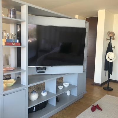 Diseño muebles para television Dormitorio