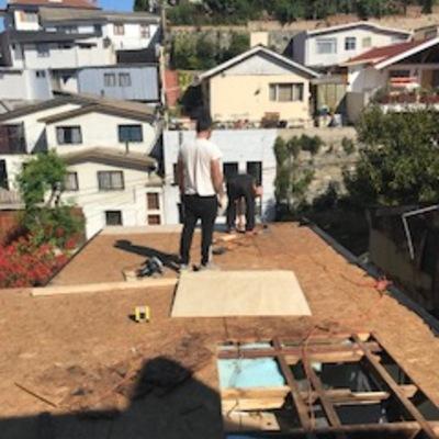 Cambio de techumbre en casa particular en Viña del Mar
