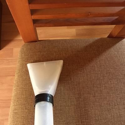 Limpieza de tapices