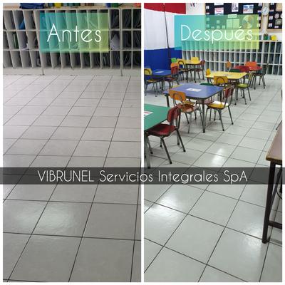 Limpieza profunda salas de colegios