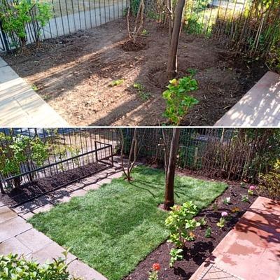 Construcción Área Verde
