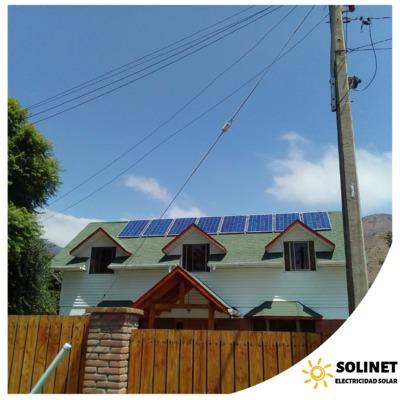 Proyecto realizado en La Calera por Solinet Electricidad Solar ☀️