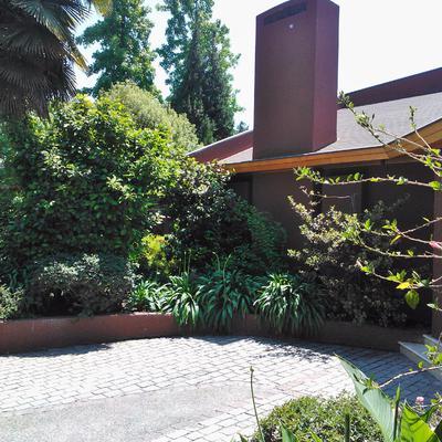 Lado fachada casa MEJICANA.