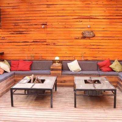 Living de terraza