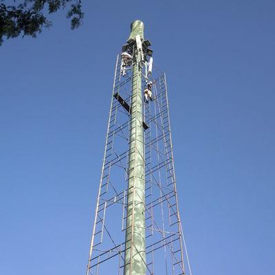 montajes de andamios en torres de celular